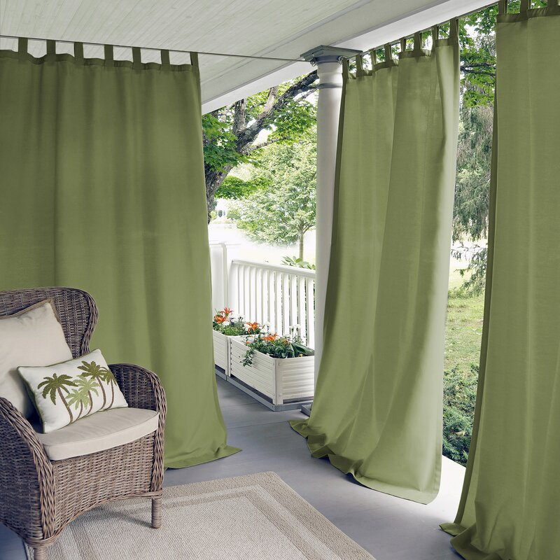 Forest Green Curtains for Dark Purple Wall