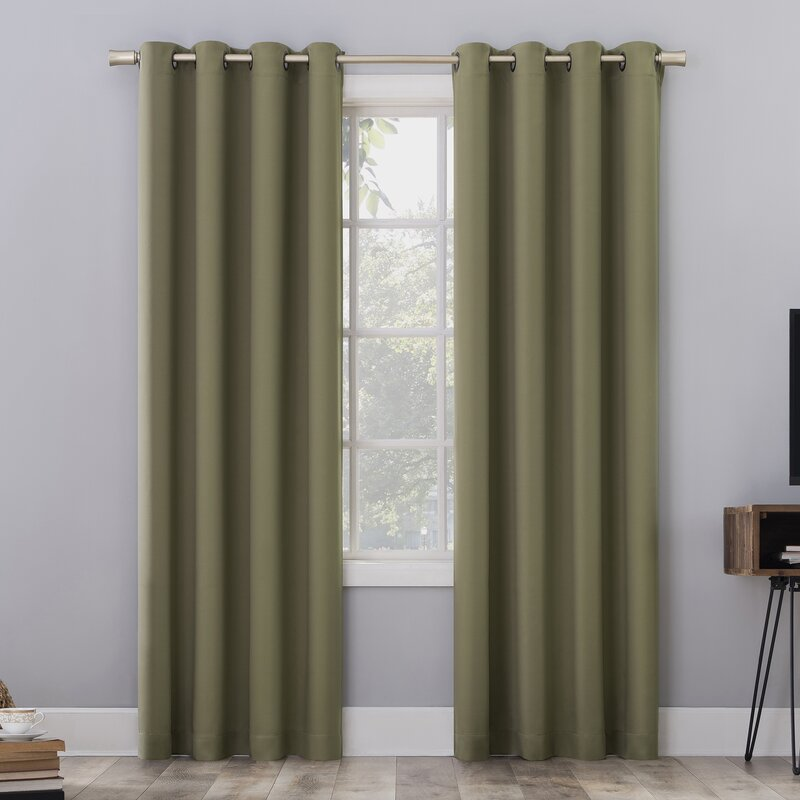 Olive Green for wooden walls